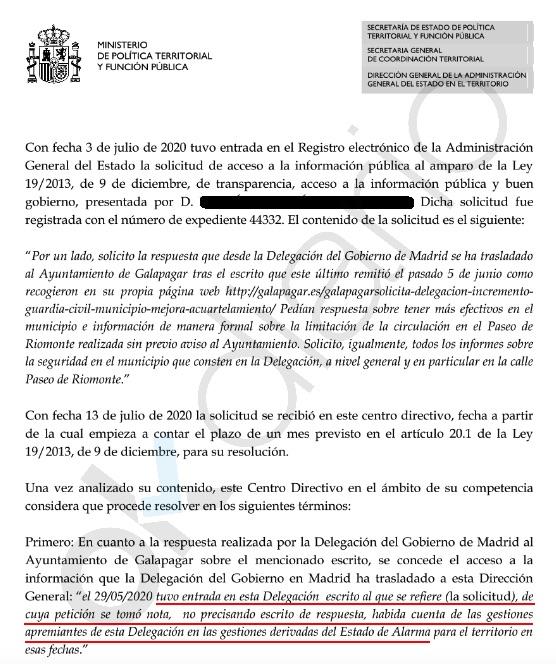 Galapagar pide más efectivos a Marlaska: «La Policía Local trabaja en exceso tras la llegada de Iglesias»