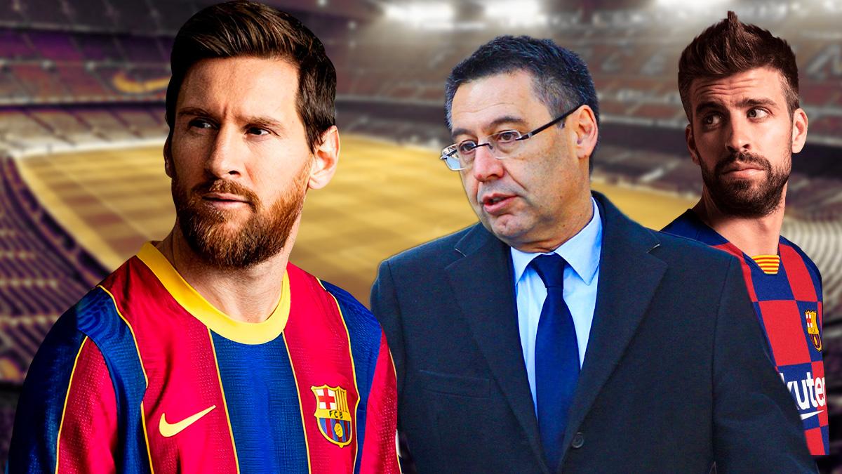 Guerra en el vestuario del Barcelona por la rebaja salarial.