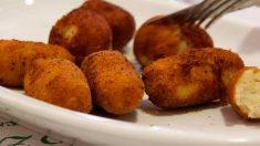 Recetas de Croquetas de patata y menta