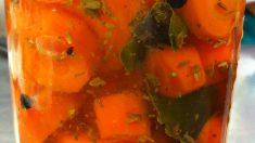 ¿Cómo elaborar zanahoria encurtida?