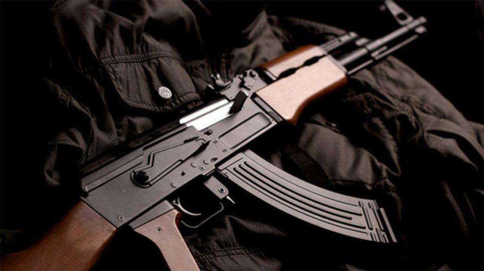 Fusil real AK-47