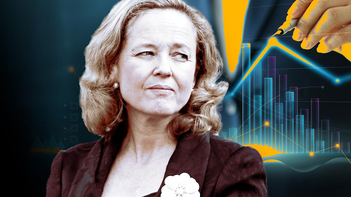 La ministra de Asuntos Económicos y vicepresidenta del Gobierno, Nadia Calviño.