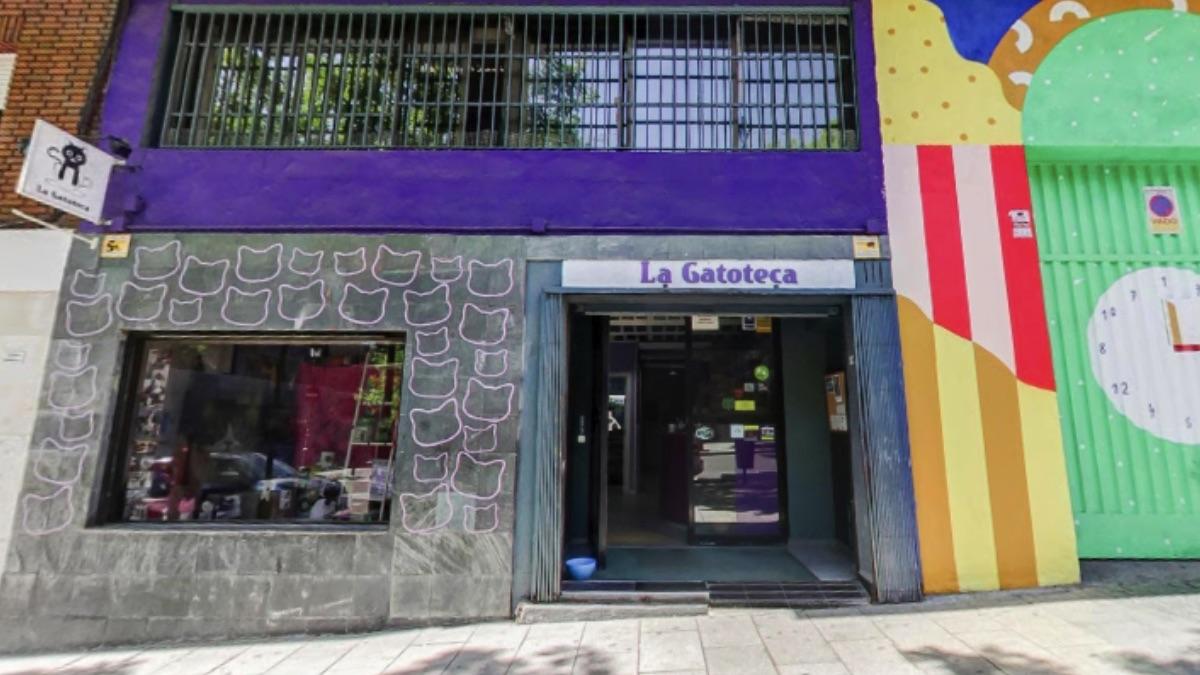 Fachada de La Gatoteca.