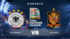 Alemania – España: Horario y dónde ver en directo por TV el partido de Nations League.
