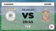 Alemania-España: horario y dónde ver el partido de la Liga de las Naciones por TV online en directo hoy.