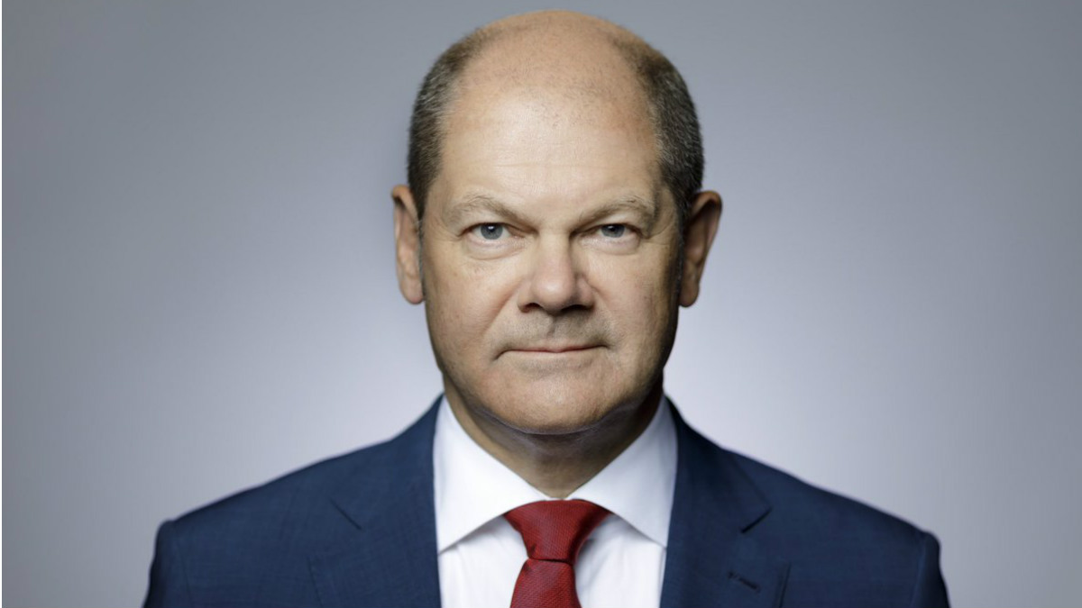 Olaf Scholz, ministro de Finanzas de Alemania