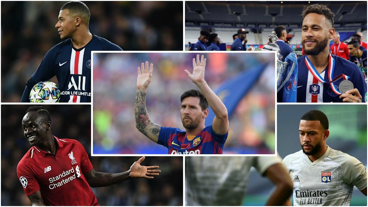 Las 10 opciones para sustituir a Messi de las casas de apuestas.