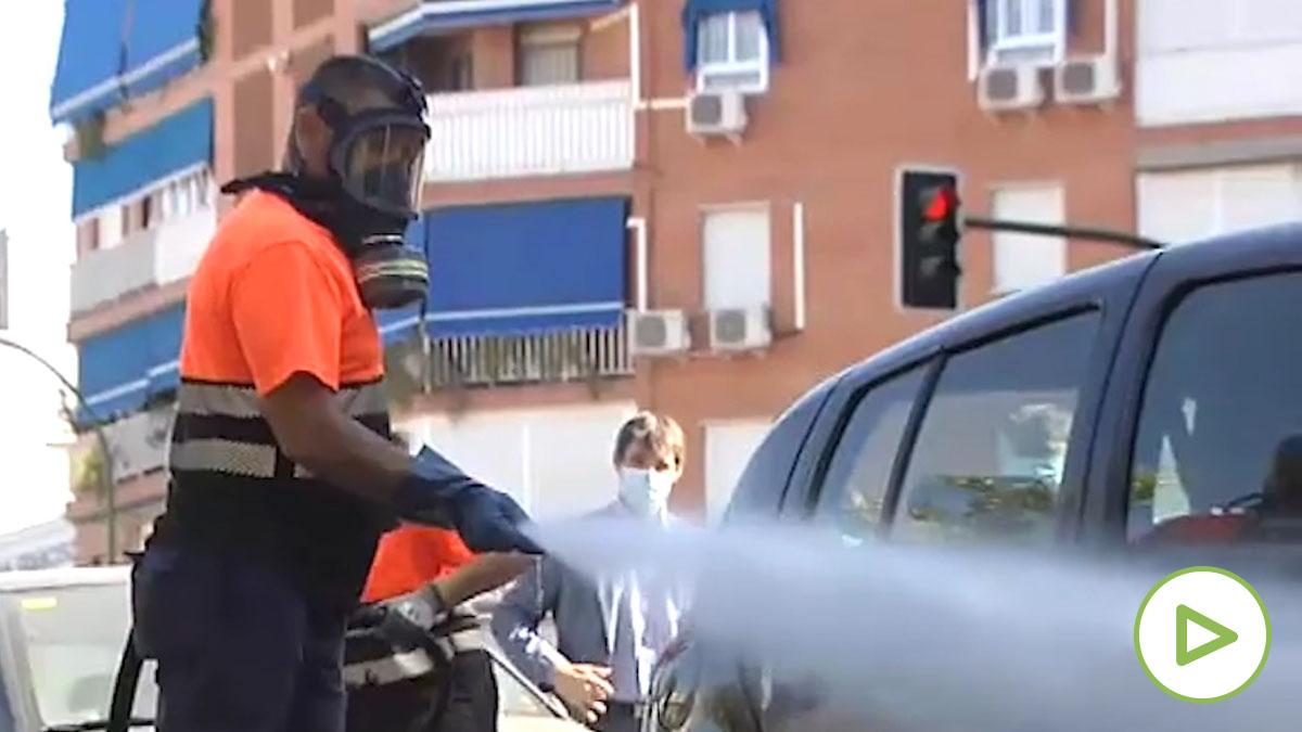 ¿Se siguen desinfectando las calles, como en el confinamiento?