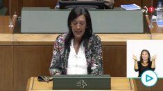 La intervención de Amaia Martínez, diputada de Vox en el Parlamento vasco.