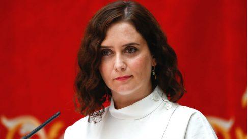 La presidenta de la Comunidad de Madrid, Isabel Díaz Ayuso (Foto: Europa Press).