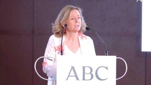 Catalina Luca de Tena, durante un evento organizado por 'ABC'.