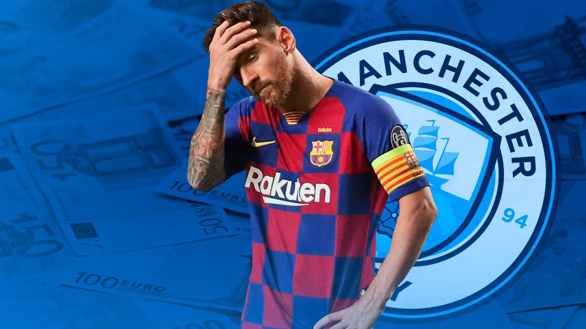 El Manchester City tiene un plan de acción con Messi.
