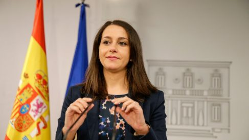 La presidenta de Ciudadanos, Inés Arrimadas. Foto: EP