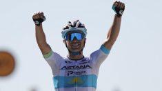 Lutsenko se impuso en otra jornada de trámite en el Tour. (AFP)