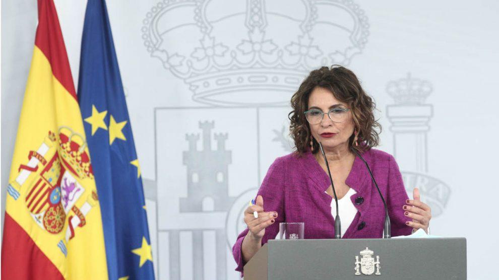María Jesús Montero, ministra de Hacienda y portavoz del Gobierno