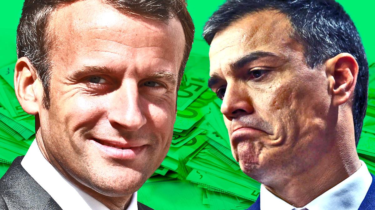 Macron lanza un plan para recuperar en 2022 el PIB previo a la pandemia mientras Sánchez tira la toalla