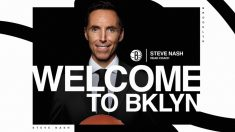 Steve Nash, nuevo entrenador de Brooklyn Nets.