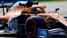Carlos Sainz durante el GP de Italia. (AFP)
