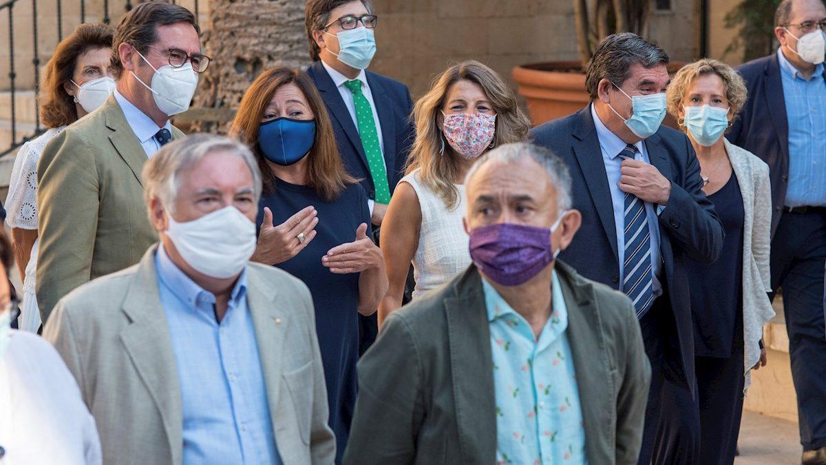 Los agentes sociales han terminado la reunión en Palma sin acuerdo.