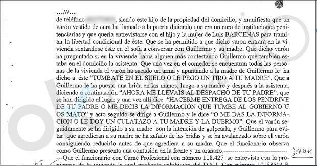 OKDIARIO destapó que Interior ordenó el secuestro de la familia Bárcenas y pagó a su chófer como 'topo'