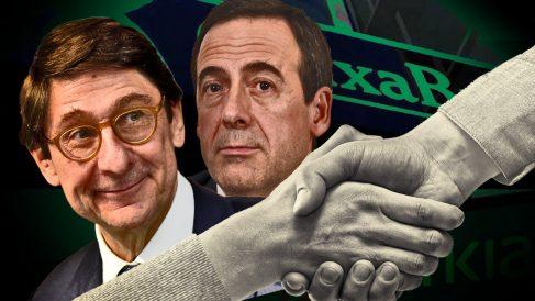 Gortázar y Goirigolzarri se perfilan como hombre fuertes de la fusión Caixabank-Bankia