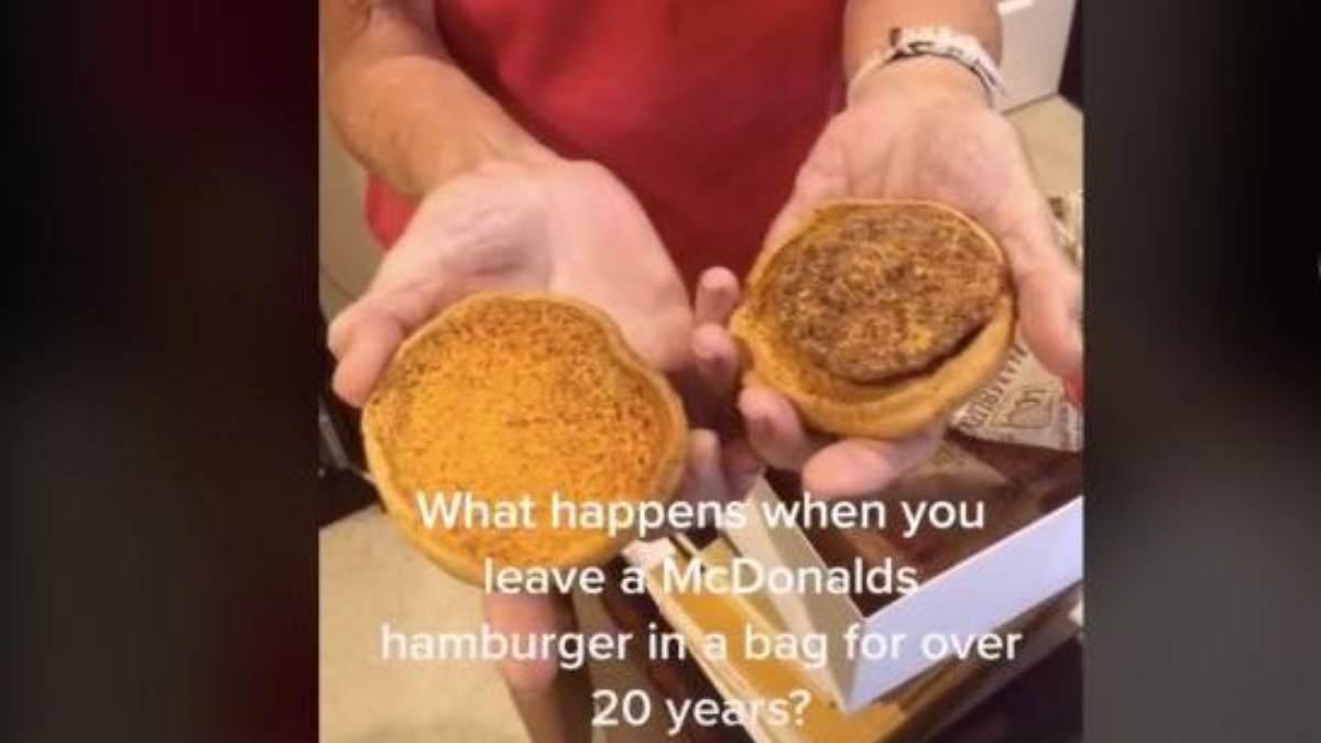 hamburguesa Mcdonald's