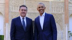 Juan Espadas y Barack Obama.