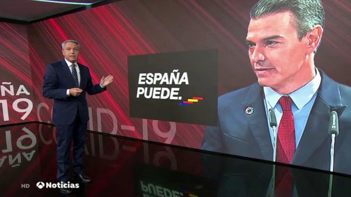 Vicente Vallés en Antena 3