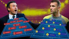 España y Ucrania se enfrentan este domingo en el Di Stéfano.