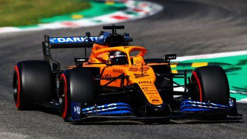 Carlos Sainz, durante una carrera. (Getty)