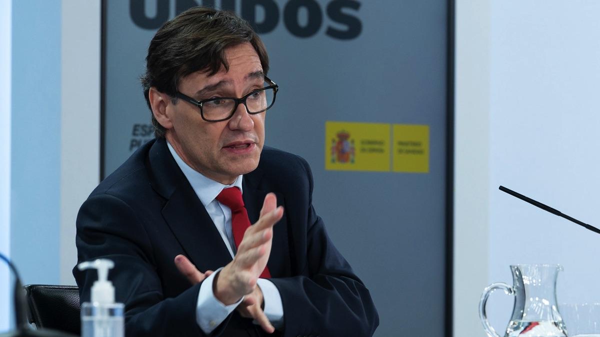 El ministro de Sanidad, Salvador Illa. (Foto: Moncloa)