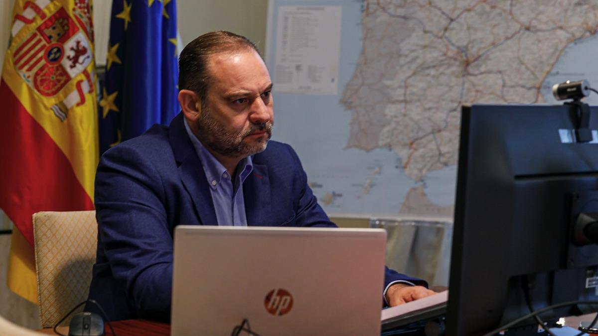 El ex ministro de Transportes, José Luis Ábalos. (Foto: Ministerio)