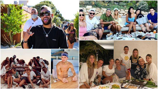 Varios de los jugadores contagiados tras estar en Ibiza.