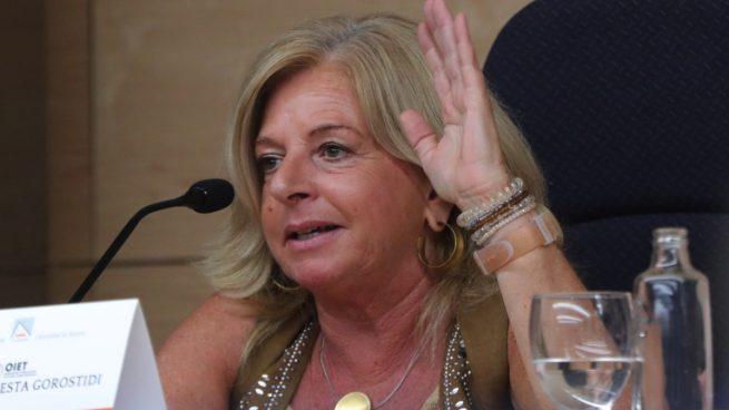 Ordoñez le recuerda a Sánchez que aprobar los Presupuestos con Bildu es dar un «portazo» a las víctimas de ETA