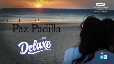 Paz Padilla visita 'Sábado Deluxe'
