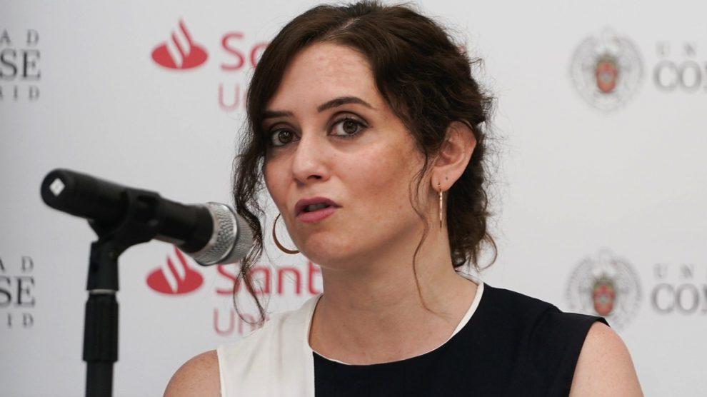 Isabel Díaz Ayuso, presidenta de la Comunidad de Madrid. (Foto: Comunidad)