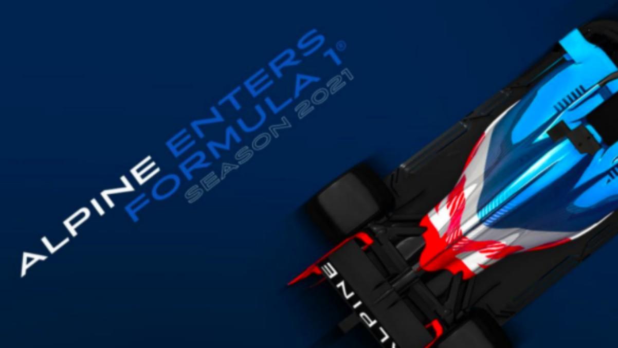 Así será el coche de Fernando Alonso en 2021.