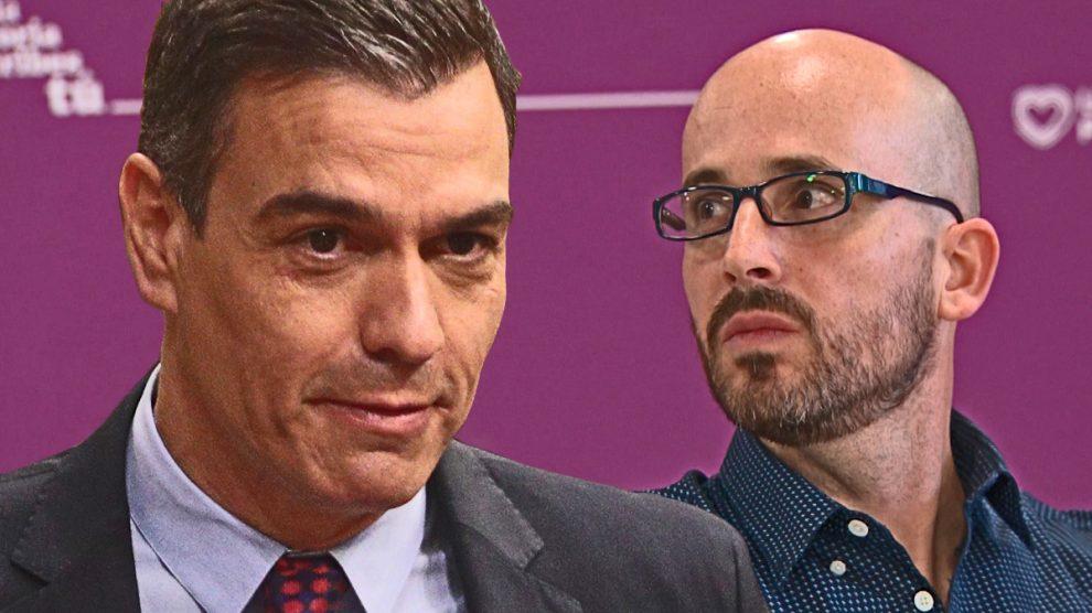 Pedro Sánchez y Nacho Álvarez, ambos doctores en Economía.