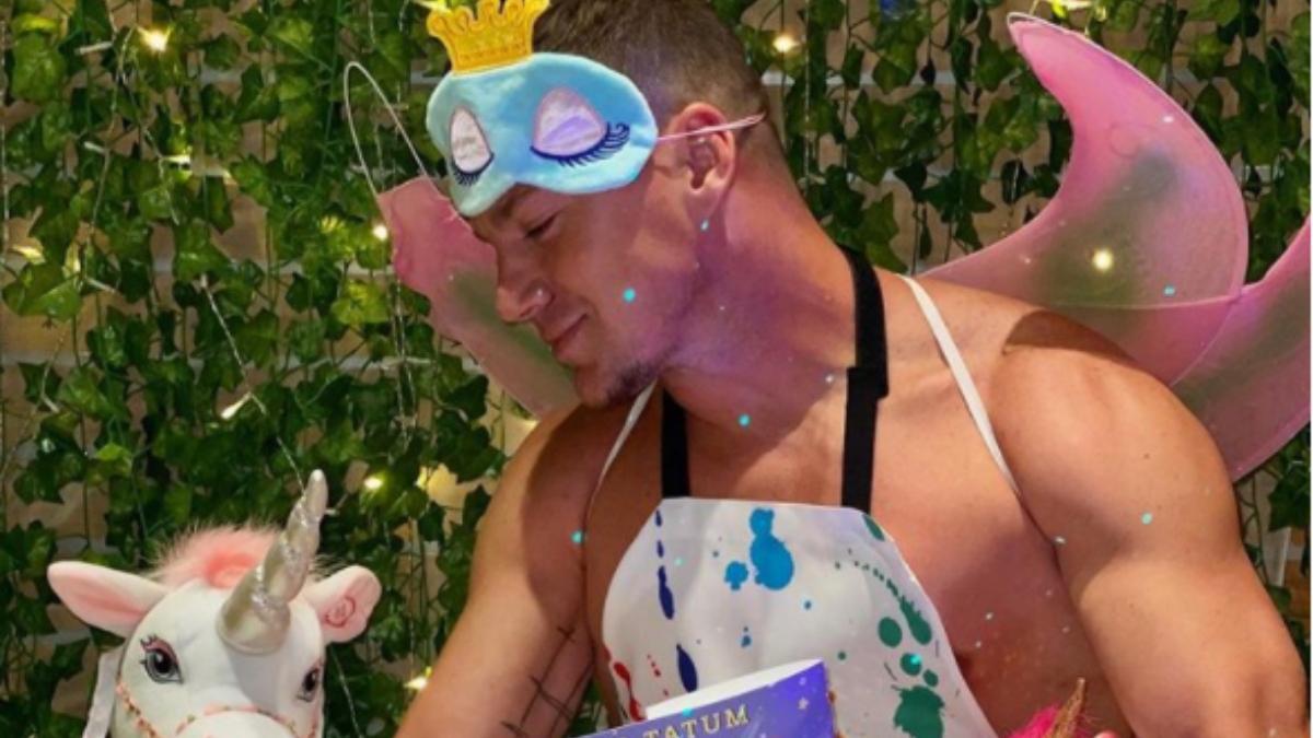 Instagram: Channing Tatum se disfraza de hada para promocionar su libro infantil