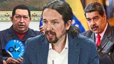Iglesias, Chávez y Maduro.