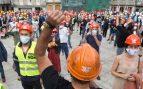 Manifestación trabajadores de Alcoa (Europa Press)