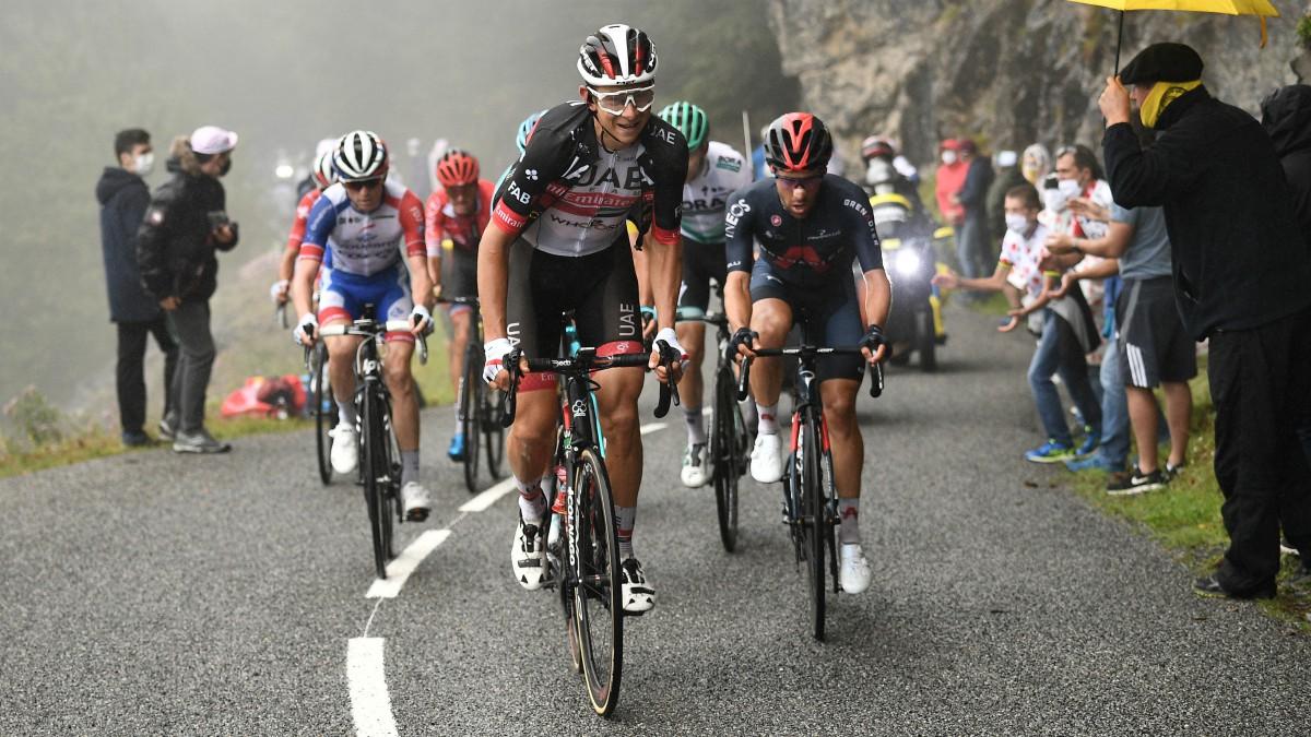 Tour de Francia 2020: clasificación de la etapa de hoy, domingo 6 de septiembre. (AFP)