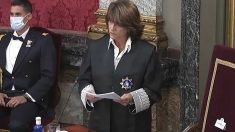 La fiscal general del Estado, Dolores Delgado, durante la apertura del año judicial. Foto: EP