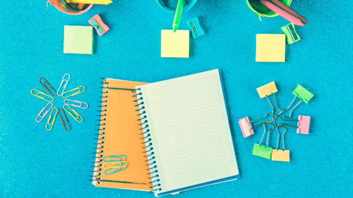 Ideas sencillas para que podáis decorar los cuadernos de la escuela