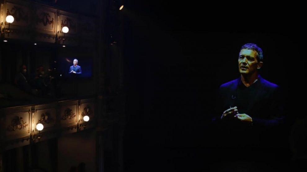 Antonio Banderas, en los Premios Max del pasado domingo. (Europa Press)