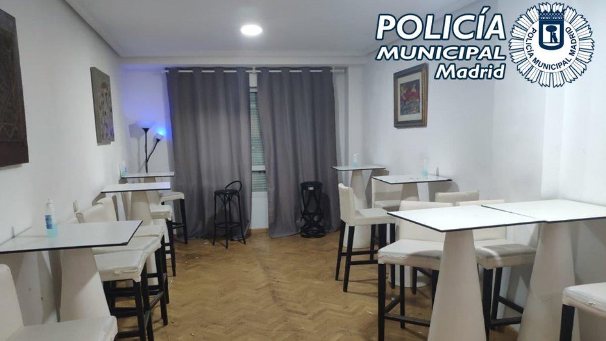 Burdel clandestino de Madrid