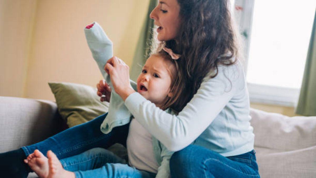 Pautas para conseguir que los niños no se resistan a vestirse