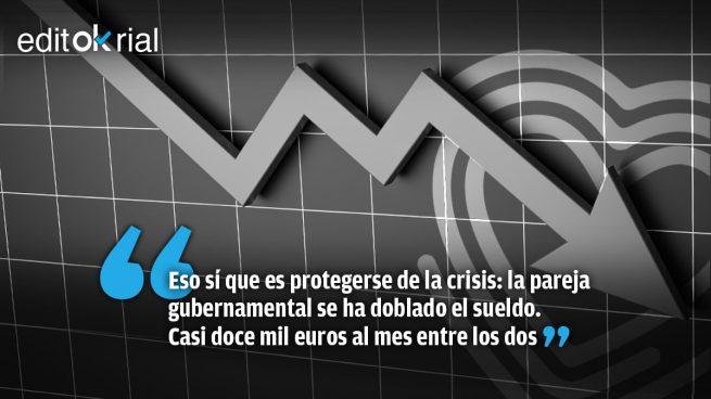 El «escudo social» de Iglesias y Montero
