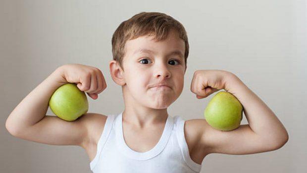 La dieta correcta para niños que practican deporte