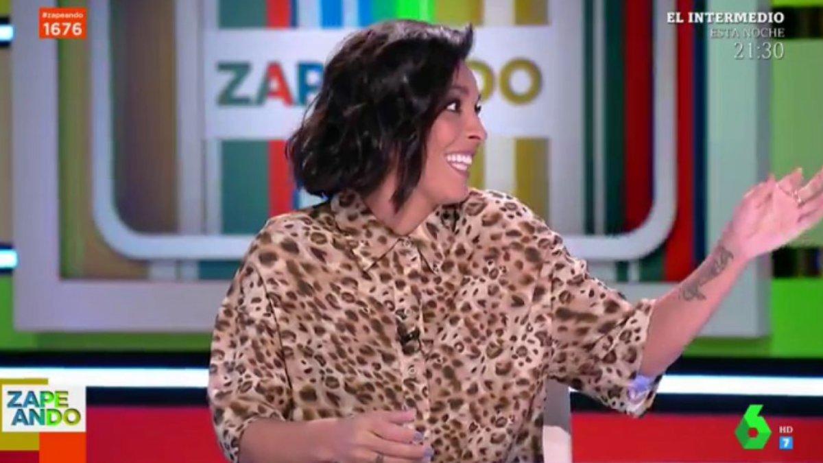 Lorena Castell en 'Zapeando'